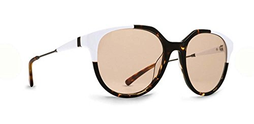 VonZipper Adults Hyde Sunglasses, White-Tort Sil/Clr Sil Lens One - Sunglasses Hyde