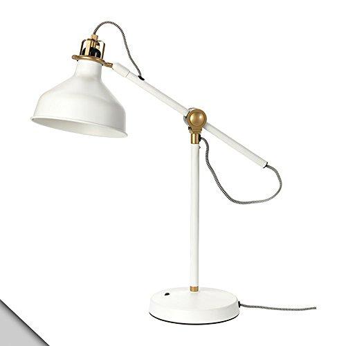 IKEA - RANARP Work lamp, off-white + E26 LED bulb