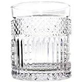 Cj 6 Copos P/whisky De Cristal Santorini 330ml Lyor Transparente No Voltagev