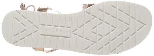 Bugatti Women's 411478816459 Gladiator Sandals Multicolour (Rose / Metallics 3490) gx9lgT0bGP