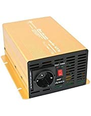 Inverter - spanningsomvormer 12V 300 tot 3000 Watt pure sinus met echte power USB 2.1A Gold Edition ... (600-1200 Watt)