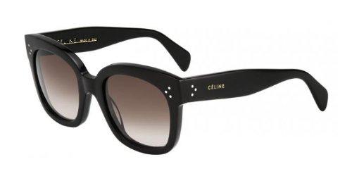 Céline New Audrey Gafas de sol, Black/Brown, 54 para Mujer ...