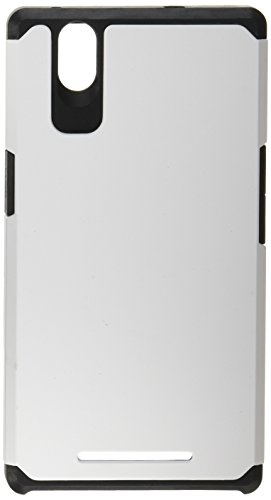 MyBat Asmyna ZTE Z970 ZMAX Astronoot Phone Protector Cover  - Retail Packaging - White/Black