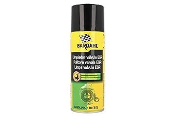 BARDAHL EGR Valve Cleaner Pulitore Valvole EGR Elimina Fuliggini Depositi Carboniosi di Olio Gomme Vernici 400 ML: Amazon.es: Coche y moto