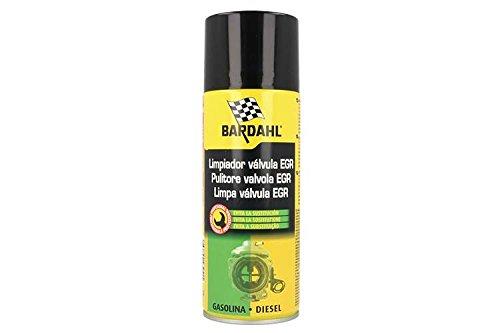 BARDAHL EGR Valve Cleaner Pulitore Valvole EGR Elimina Fuliggini Depositi Carboniosi di Olio Gomme Vernici 400 ML 4326