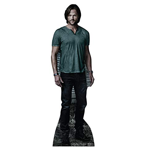 Vampire Cardboard Stand - Advanced Graphics Sam Winchester Life Size Cardboard Cutout Standup - The CW's Supernatural
