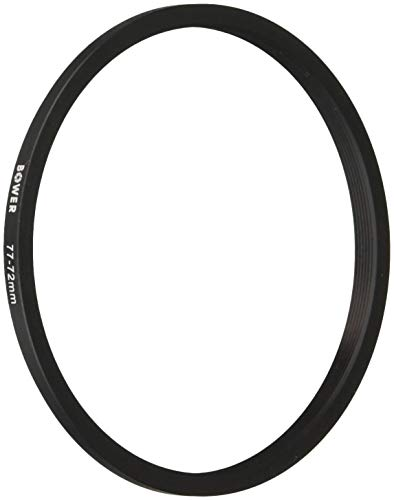 (Bower Step Down Ring 77-72mm Lens Filter Size Adapter)