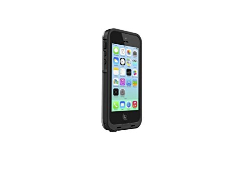 LifeProof FRE iPhone 5c Waterproof Case - Retail Packaging - BLACK/CLEAR by LifeProof (Image #2)