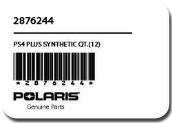 ポラリスps4 Plus Synthetic Oil Quarts (ケース) B00DUY5044