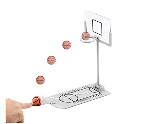 Avtion Basketball Game  Mini Desktop Tabletop Portable Travel or Office Game Set for Indoor or Outdoor Fun Sports Novelty Toy or Gag Gift Idea by Avtion