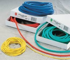 Hygenic Corporation (a) Thera-Band Resistive Exercise Tubing- 25 Ft.- Blue