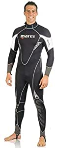 Mares 412514-S5 Bodysuit for Men - S, Black