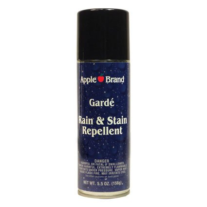 Apple Brand Garde Rain & Stain Water Repellent - Protector Spray For Handbags, Purses, Shoes, Boots, Accessories, Furniture - Won't Alter Color - Great For Vachetta (Tennis Shoe Protector Spray)
