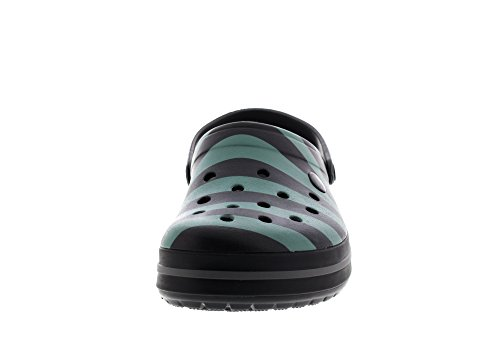Clog Crocs Black Graphic Sabots Graphite Crocband qtrpwfnt