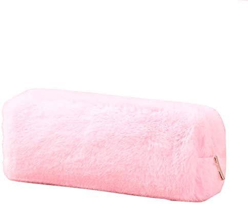 FairOnly - Estuche cuadrado de 8 compartimentos para lápices de colores lisos, color rosa: Amazon.es: Oficina y papelería