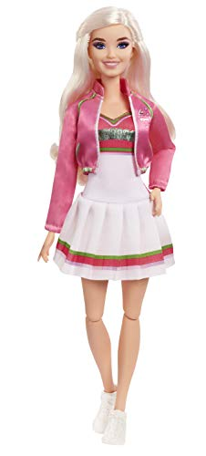 """Disney Zombies 2, Addison Wells Doll (11.5inch) Wearing Cheerleader Outfit and Accessories, 11 Bendable """"Joints,"""" Great Gift for Ages 5+"""