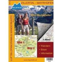 Wanderkarte Zillertal Mayrhofen