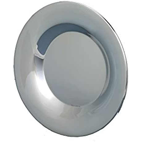 Smooth Silver Plate Large