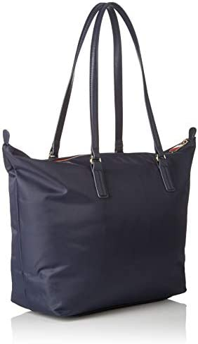 Tommy Hilfiger Poppy Tote, Bolso totes para Mujer, Azul (Tommy Navy), 14x32x47 cm (W x H x L): Amazon.es: Zapatos y complementos