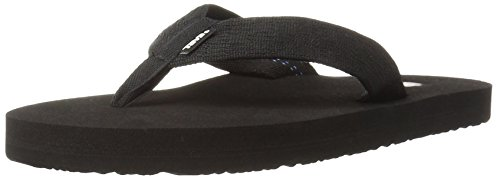 Teva Men's Mush II Flip Flop,Brick Black,8 M US