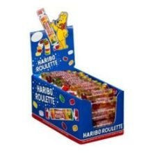 Haribo Roulette Gummy Candy, 0.88 Ounce -- 432 per case.