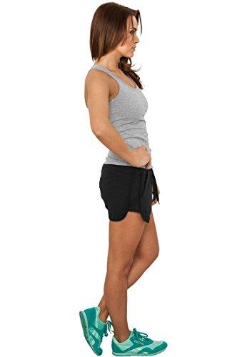 caldo pile Classics pantaloni Nero Urban Ladies LUCE qTRxF