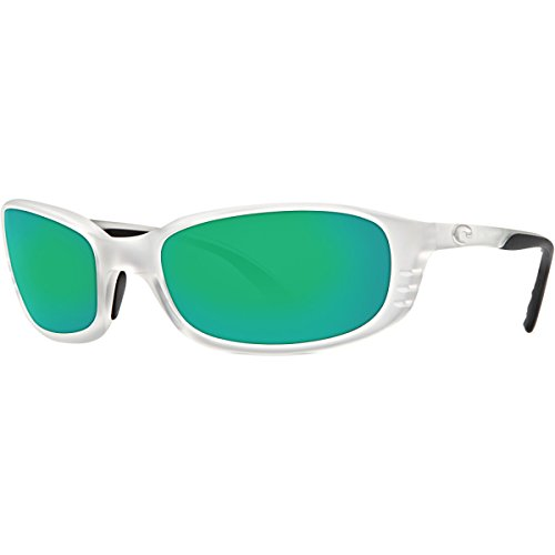 Costa Del Mar Brine Sunglasses Matte Crystal Green Mirror