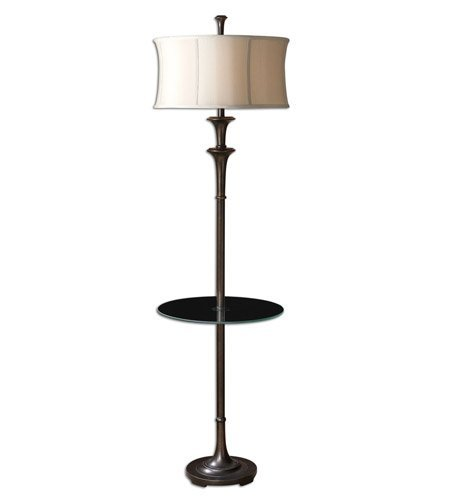 Table Lamps 1 Light With Oil Rubbed Bronze Metal Poly Ceramic 69 inch 150 Watts (Brazoria Uttermost Oil)