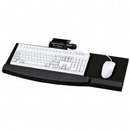 Mead-Hatcher Lift-N-Loc Articulating Keyboard Arm, 360 Degrees swivel and a 30 Degrees Positive/Negative Tilt Range, Black (MATKA150)