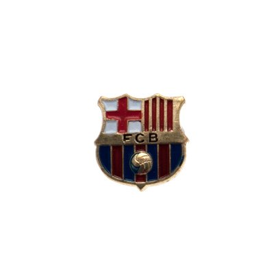 Logo Pin Badge - Purple Barcelona FC Metal Pin Badge Club Logo Lapel by Barcelona F.C.