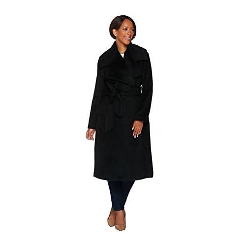 Nice G.I.L.I. Gili Notch Collar Belted Coat A279810