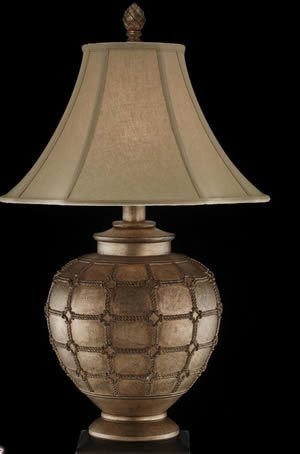 Nova Table Lamp in Aged Gold (Accent Table Lamp Nova Lighting)