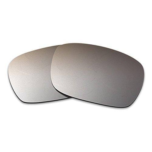 f9f730cb79b Hkuco Plus Mens Replacement Lenses for Spy Optic Helm Sunglasses Titanium  Mirror Polarized