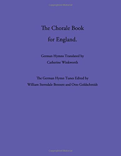 The Chorale Book for England pdf epub