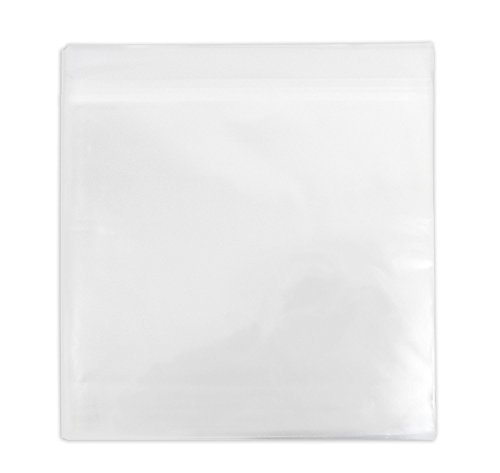 Golden State Art, Pack of 100, Acid-Free 12 11/16 X 12 3/8 inches Crystal Clear Sleeves Storage Bags for 12x12 Photo Framing Mats Mattes