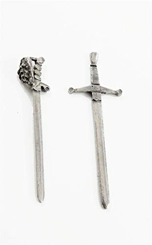 Melody Jane Dollhouse 2 Swords Miniature 1:24 Scale Ornamental Accessory ()
