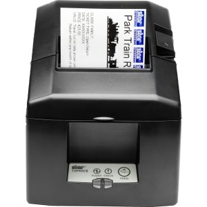 Printer Receipt Tsp654 Star (Star Micronics, TSP654IIE3-24 GRY US, Thermal Printer, Ethernet (LAN), Auto Cutter, External Power Supply Incl.)