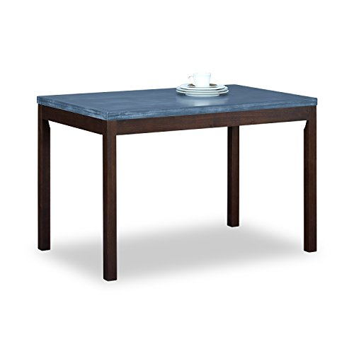 Only Rectangular Table Base Top (Pine Wood Dining Table 45