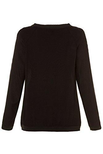 Ulla Women's Viscose Size Jacket Black Popken 716279 Bomber Plus 5rwq5Z1