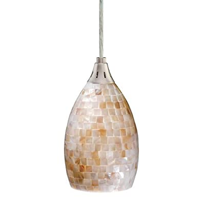 Vaxcel Lighting PD5320C Milano 1 Light Mini Pendant - Adaptable to Monorail,
