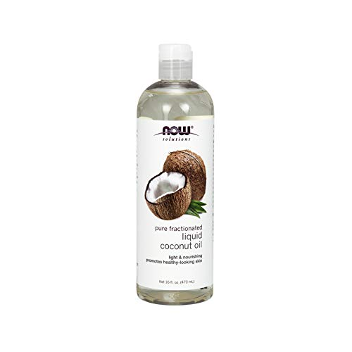 Now Solutions Liquid Coconut Oil, 16-Ounce