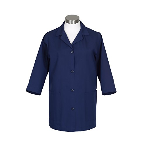 Lab Smock - Fame Adult's Female Smock - Navy - Extra Small
