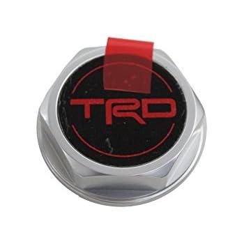 Genuine Toyota Accessories PTR35-00110 Forged Billet Aluminum TRD Oil Cap