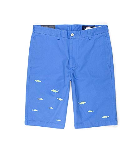 (Vineyard Vines Men's Grand Slam Embroidered Harbor Cay Club Short - Size 34)