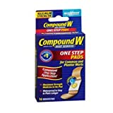 Compound W Compound With Wart Remover - Maximum Strength One Step Pads, 14 each (Pack of 3)