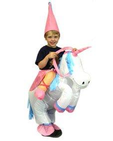 Karneval Kostum Kinder Aufblasbar Fasching Einhorn Amazon De