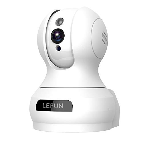 Baby Monitor, LeFun Wireless IP Security Camera WiFi Surveillance Pet Camera with Cloud Storage Two Way Audio Remote Viewing Pan/Tilt/Zoom Night Vision Motion Detect for Home/S hop/Office