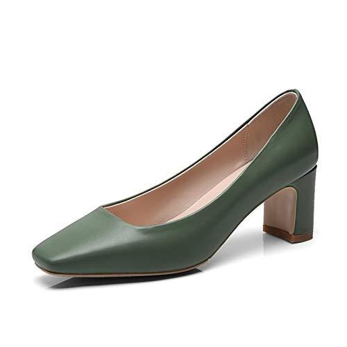 nappa nero da spillo a comfort Black grigio verde tacco donna con in Tacco ZHZNVX pelle Scarpe wqBpxpP