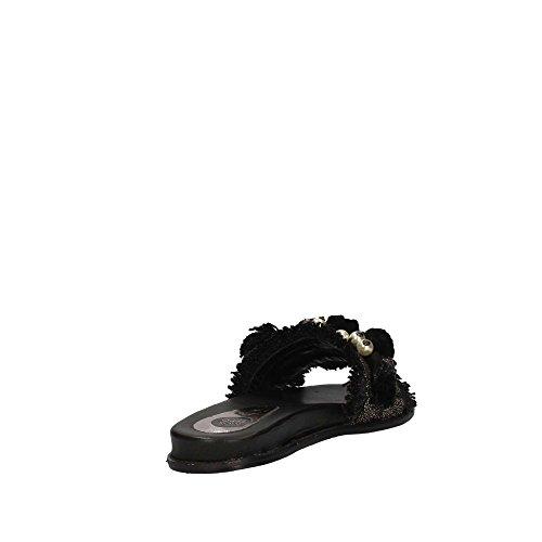 Gioseppo Toe Nero Women's Sandals 45327 Open rwr6H