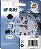 1 x Original Ink Cartridge for Epson WorkForce WF 3620 DWF T2701, T 2701 - Black - - Content: 6.2 Ml